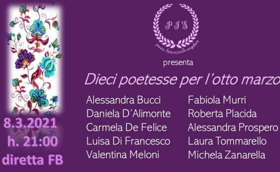 dieci poetesse per l'otto marzo